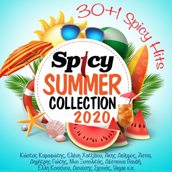 SPICY SUMMER COLLECTION 2020 (30+1 SPICY HITS)